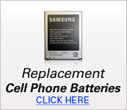 Replacement Cell Phone Batteries