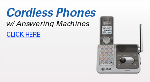 Cordless Phones with Answering Machines