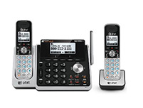 2 Handset Cordless Two Line Operation