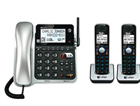 3 Handset Corded / Cordless Two Line Operation