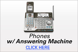 Phones W/Answering Machines