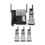 AT&T SB67118 and 3-SB67108 4 Line Corded/Cordless Phone