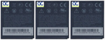 HTC Battery for HTC BD26100 (3-Pack) Replacement Battery