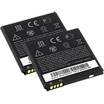 HTC Battery for HTC BG58100 (2-Pack) Replacement Battery