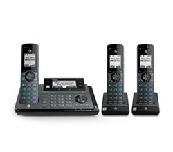 ATT 3 Handsets  atnt handset connect to cell answering system clp99387