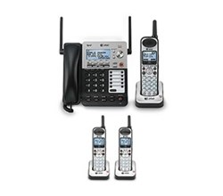 At Amp T 4 Handset Phone Systems Factory Outlet Store