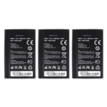 Huawei Battery for Huawei HB4F1 (3-Pack) Replacement Battery