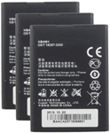 Huawei Battery for Huawei HB4W1 (3-Pack) Replacement Battery