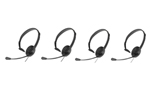 AT & T KX-TCA400-AT & T-4 Pack Over The Head Headset