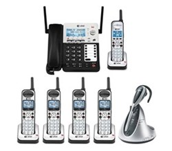 Hot Deal att sb67138 office bundle with headset sb67118 sb67138 plus 4 sb67108 tl7610